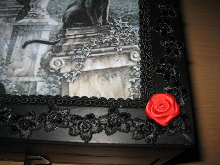 15 best Gothic jewelry box images on Pinterest Goth jewelry