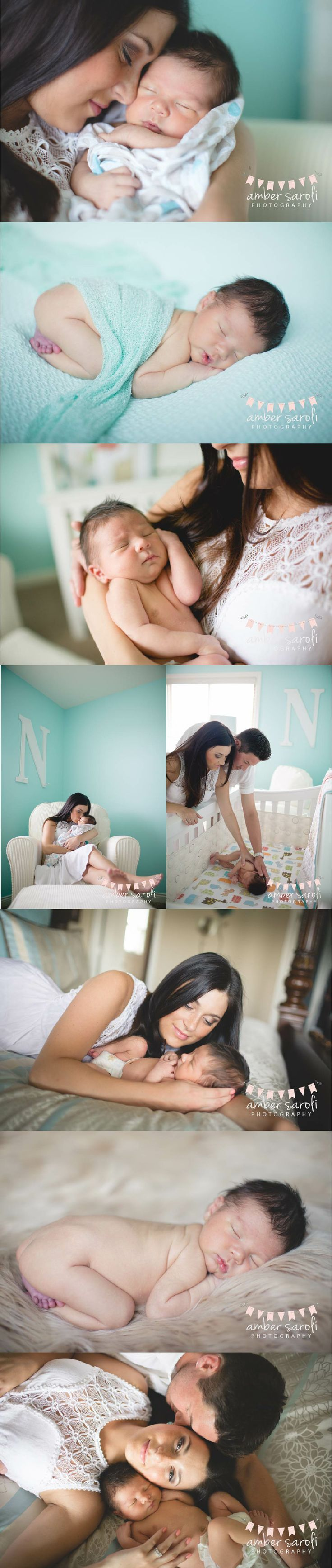 Wedding & Lifestyle Photographer-Amber Saroli Photography #newborn #family #photography #macomb #portaits #mom #dad #baby #love #teal #home #session