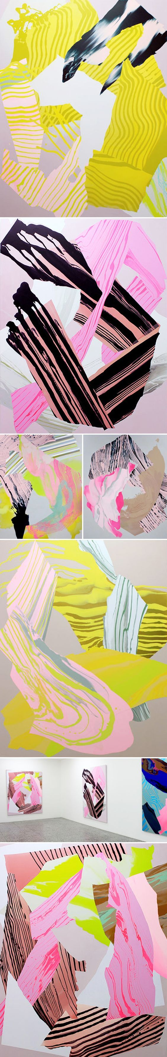 paintings by noël skrzypczak <3: