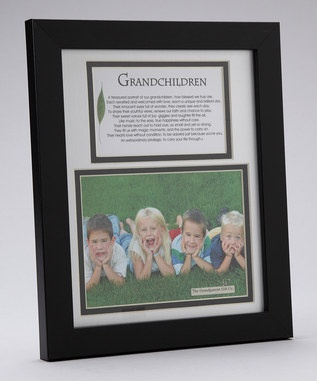 grandparents poem and picture frame