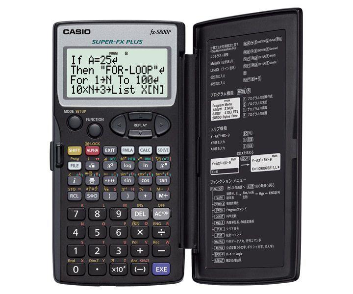 Calculadora Programable Casio FX 5800P