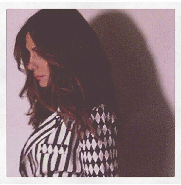 "Despina Vandi shooting ""Despina Vandi for Chip"" collection spring/summer 2013."