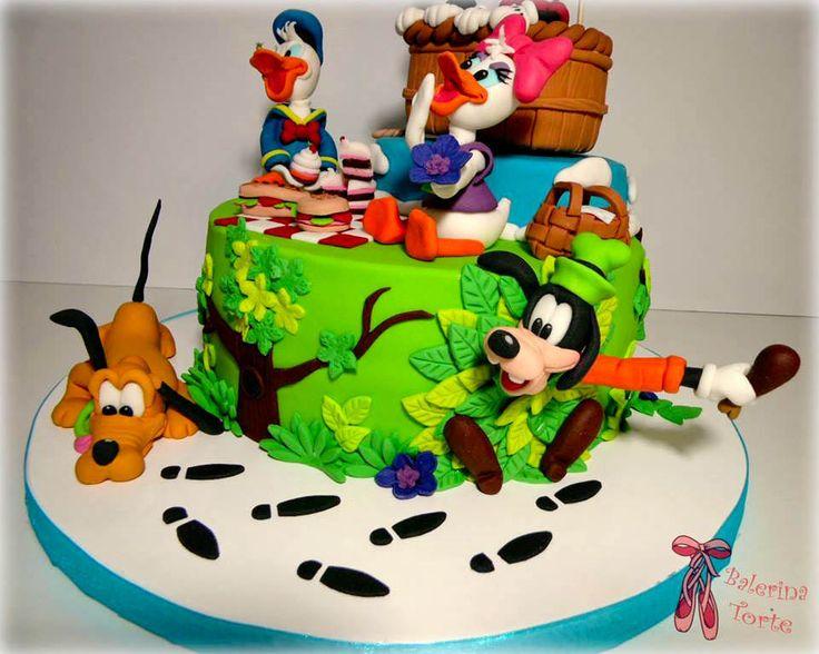 Https Flic Kr P Xihptw Disney Picnic Cake Dizni