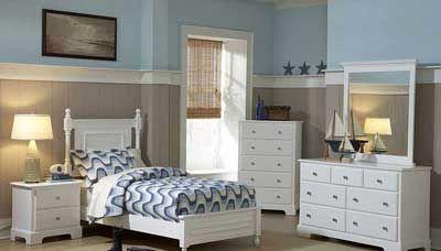 tempat tidur anak minimalis putih, kamar set anak, set kamar tidur anak