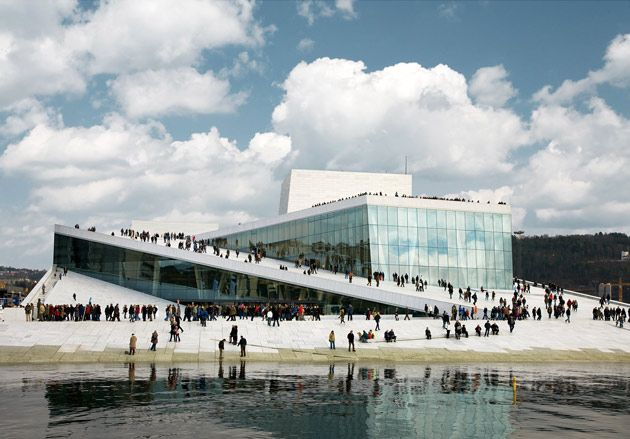 Opera House in Oslo, Norway