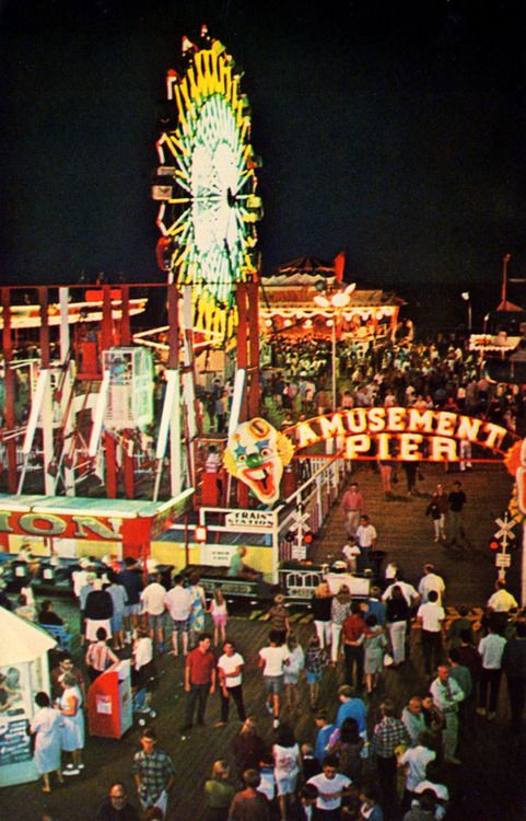 ".I loved my summer times when i went to ""the shore""  Seaside Heights, New Jersey"