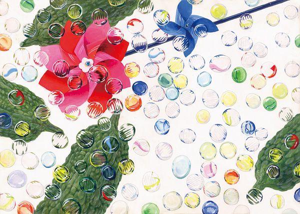 美術への確実な一歩に 芸大・美大受験総合予備校  新宿美術学院  学生作品 2008年度 デザイン・工芸科 デザインコース