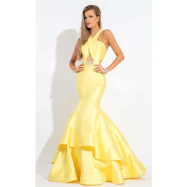 25  best ideas about Yellow formal dress on Pinterest | Yellow ...