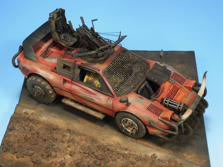 Ferrari Mad Max 1/24 Scale Model dioramas & miniatures