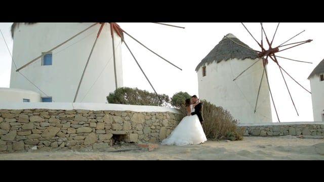 Jazmin & Yorgo's #Destination #Wedding in #Mykonos | September 2014 | Wedding Planning by http://mykonos-weddings.com/