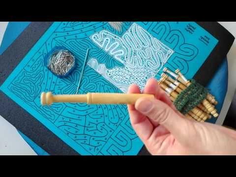 002 Encaje de Hinojosa - Materiales - YouTube