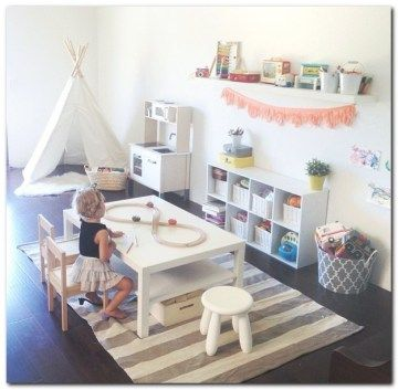 Simple Playroom Ideas for Kids (13)