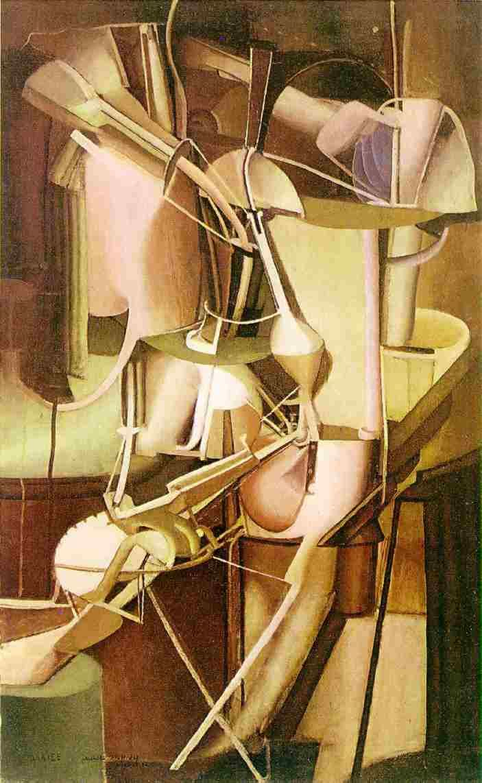 """Mariée"" (1912, ""Bride""), by Marcel Duchamp. Philadelphia Museum of Art"