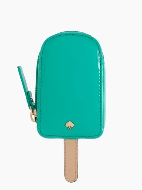 so cute for summer! kate spade popsicle coin purse