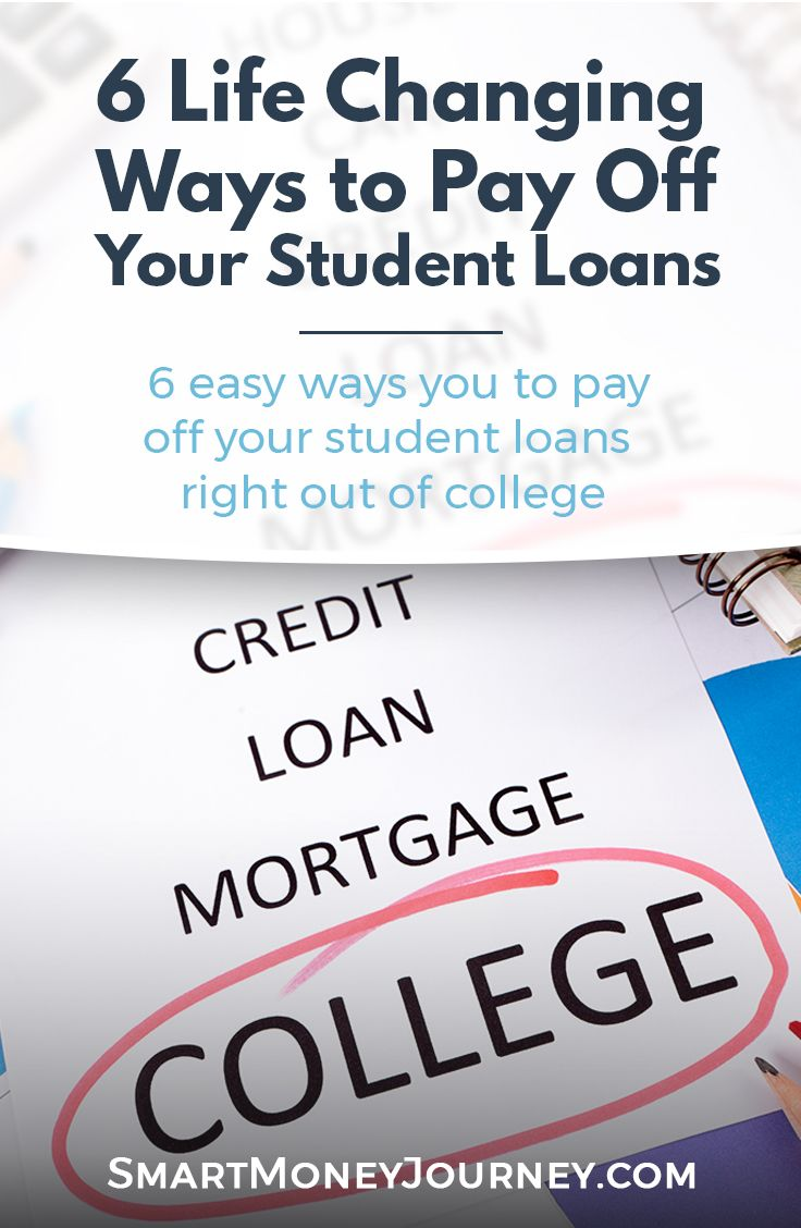 6 Steps To Paying Off Your Student Loans Asap Student Loans Financial Aid For College Paying Back Student Loans