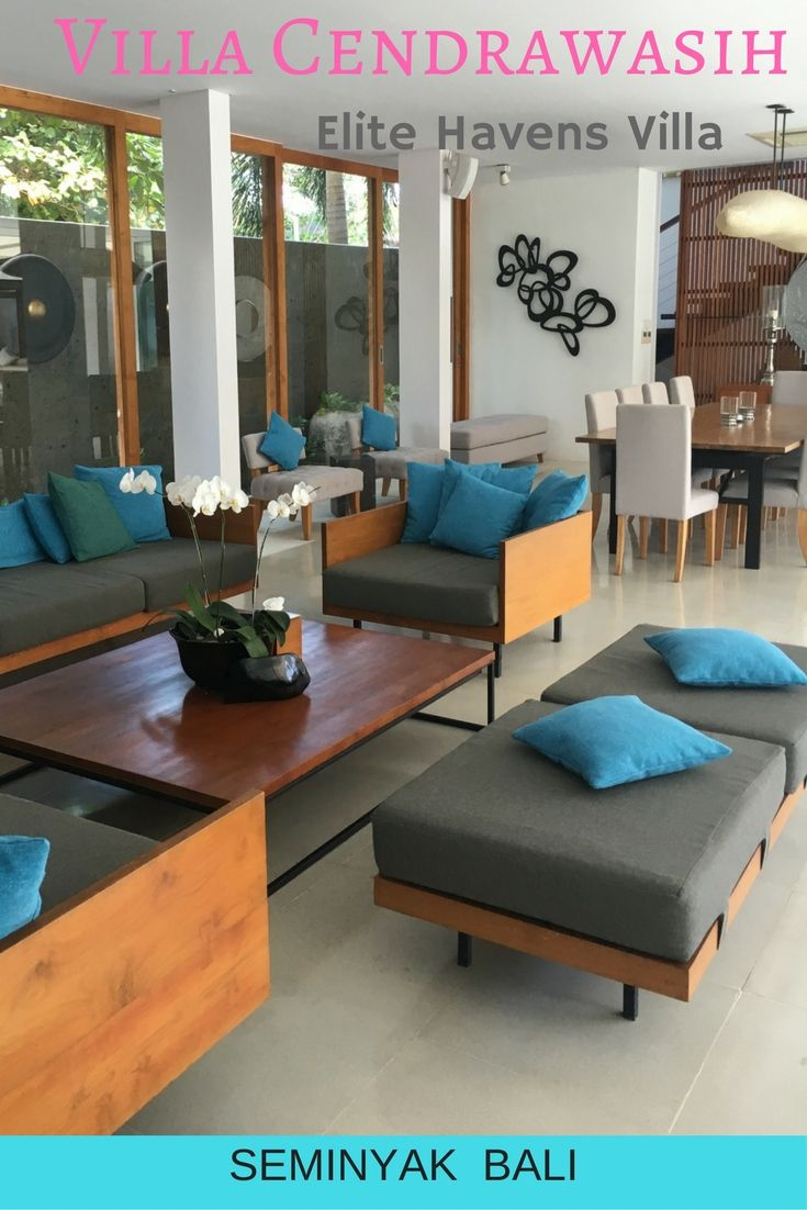 Villa Cendrawasih in Seminyak Bali is in a fantastic location and was great to look through for Elite Havens