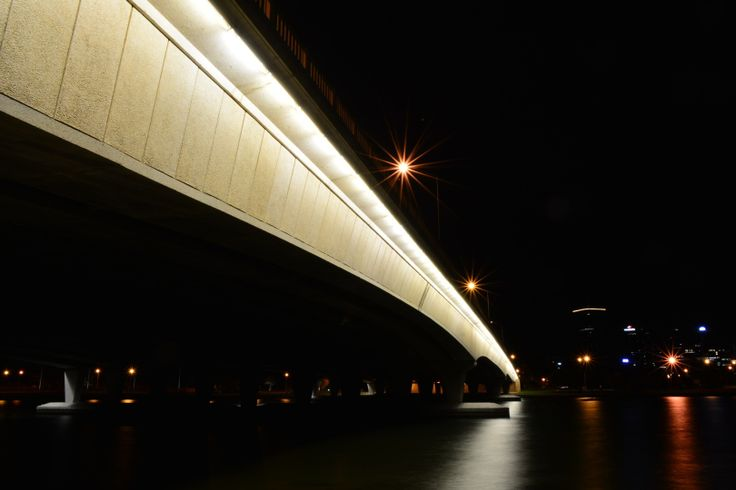 Narrows bridge, Perth Western Australia. About 3:30am