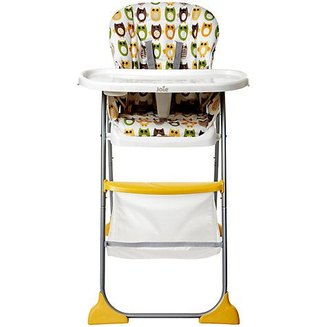 Joie Baby Mimzy Snacker Highchair, Owl http://www.parentideal.co.uk/john-lewis---highchairs.html