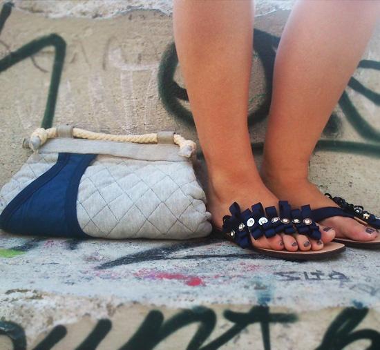 handmade flip flops!