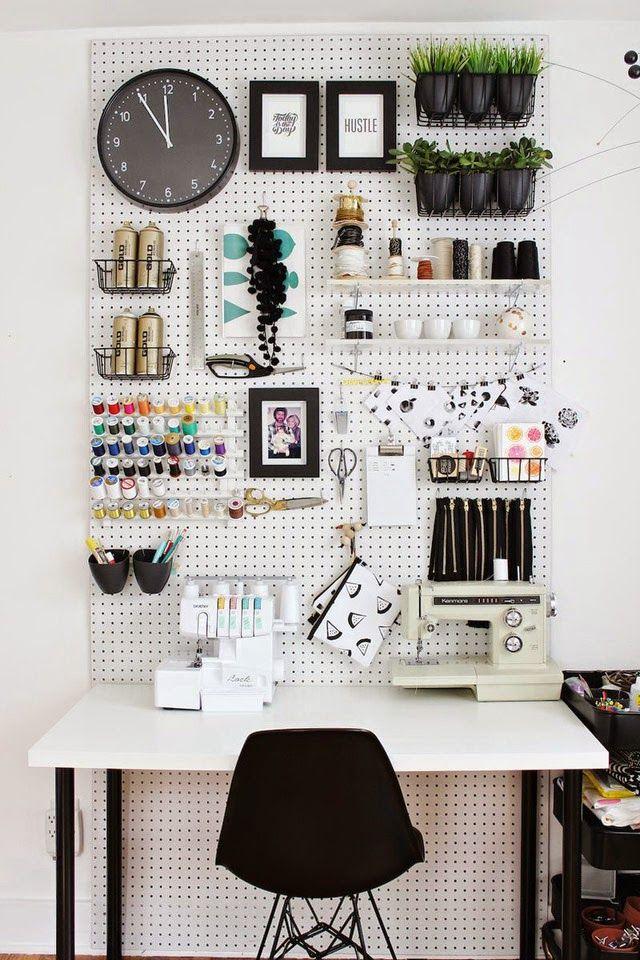 Идеальный домашний офис: 30 идей по обустройству рабочего места