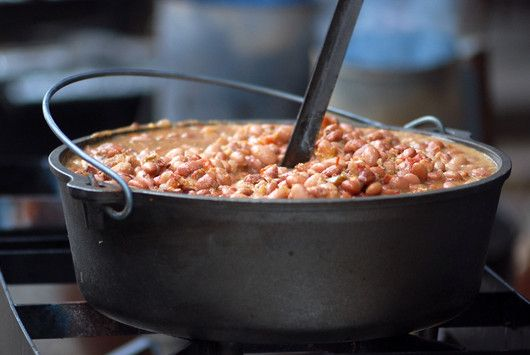 Drunken Beans  ~  The combination of bacon, onions, pinto beans, tomatoes, cilantro and jalapeno add incredible flavor and texture.
