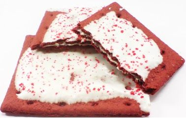 What does a Red Velvet Pop Tart look like!??? This of course!!