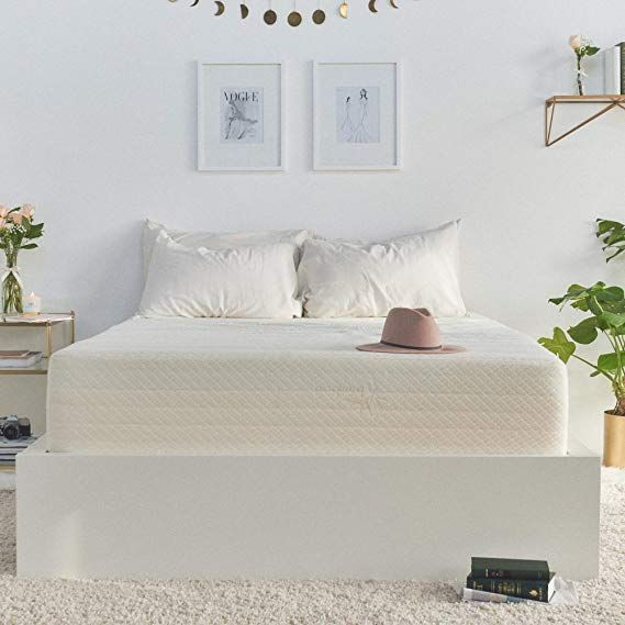 Brentwood Home Cypress Mattress Bamboo Derived Rayon Cover Gel Memory Foam Made In Usa 13 Inch Full Bamboo Mattress Mattress Twin Bed Mattress