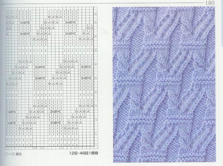 280 best images about ????? on Pinterest Knit patterns, Lace knitting stitc...