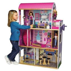 images of homemade doll houses | Barbie DIY Doll House