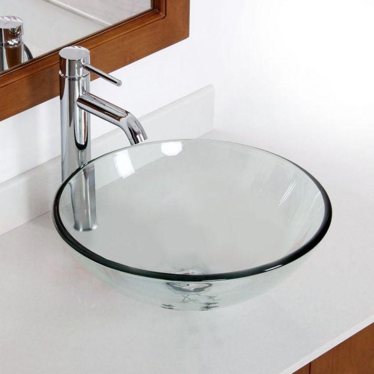Econokit Drop Esatto paquete lavabo llave contra y céspol-Plateado