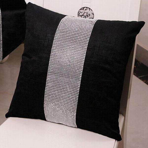 45*45cm Quality Stylish Diamond Velvet Cushion Sofa Bed Pillow Modern Minimalist Hotel Cushion