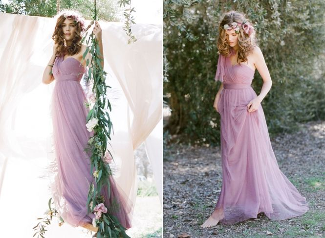 This romantic bridesmaid gown is a winner for sure!