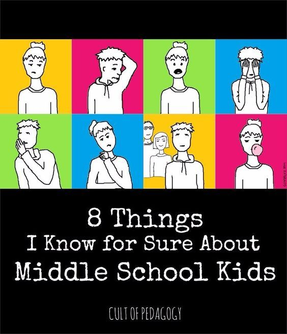 8 Things I Know for Sure About Middle School Kids | Cult of Pedagogy