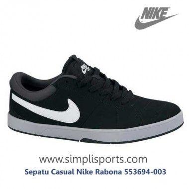 Sepatu Sneakers Casual Nike Rabona 553694-003 ORI