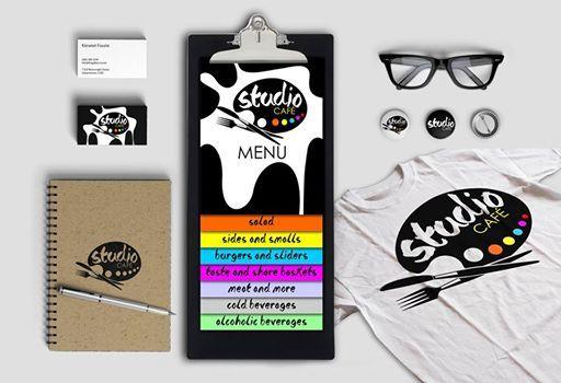 Studio Cafe - Identity Designed