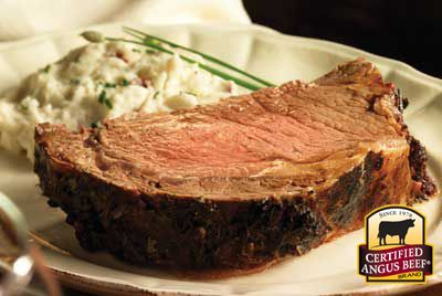 Boneless Rib Roast Recipe Provided By Certified Angus Beef ®