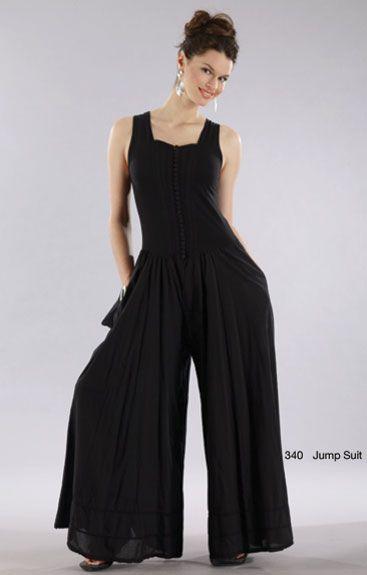 Dressy Jumpsuits Luna Luz Garment Dyed Wrap Front