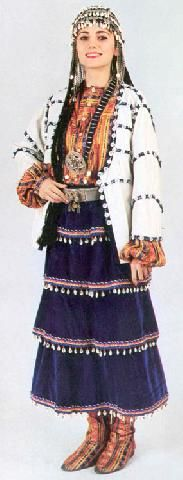 Turkish Costumes, Tokat, Woman