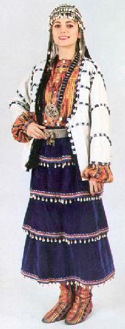 Turkish Costumes, Tokat, Woman