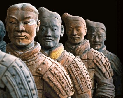 best chinese terracotta army horses pictures to pin - Google Search