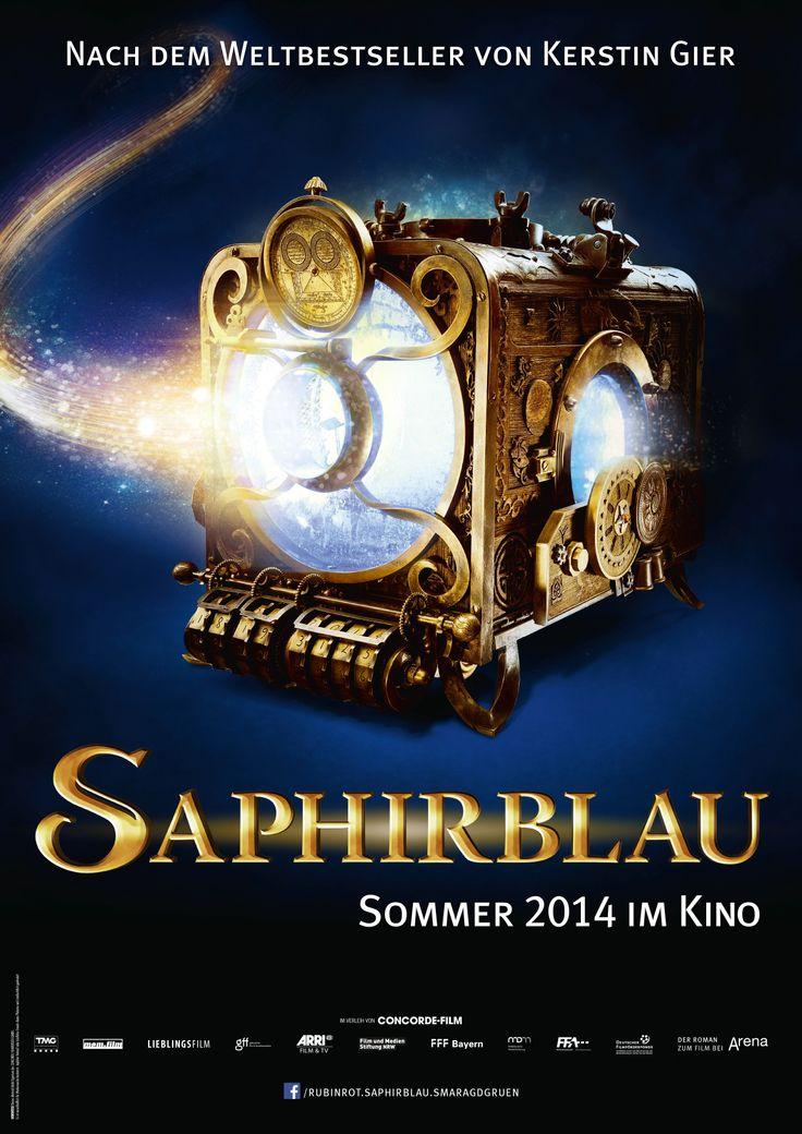 Teaserplakat Saphirblau Kinostart (Deutschland):14.08.2014