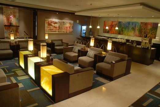 Garuda Indonesia executive lounge. Photo courtesy of Artura Insanindo via The Jakarta Post Travel.