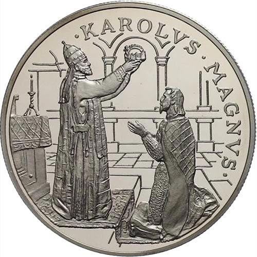 Moneda de Plata 10 Diners Andorra 1996.