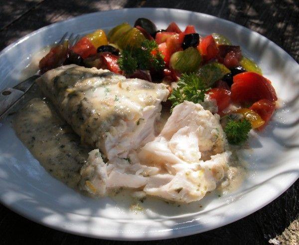 Middle Eastern Tahini and Lemon Baked Fish