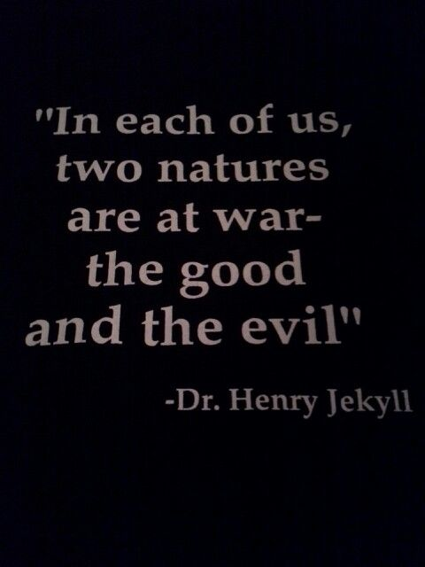 A literary analysis of evil in jekyll and hyde by stevenson
