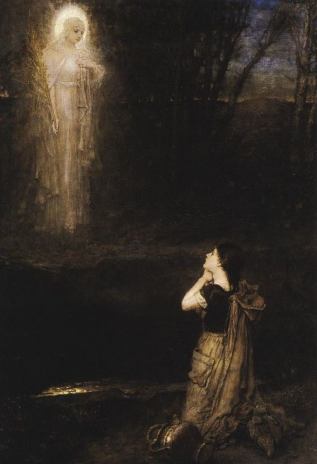 George Henry Boughton, 'The Vision at the Martyr's Well'