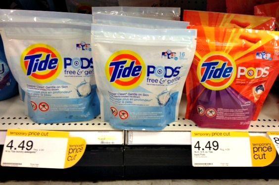 Tide Pods ONLY $1.49 At Target!