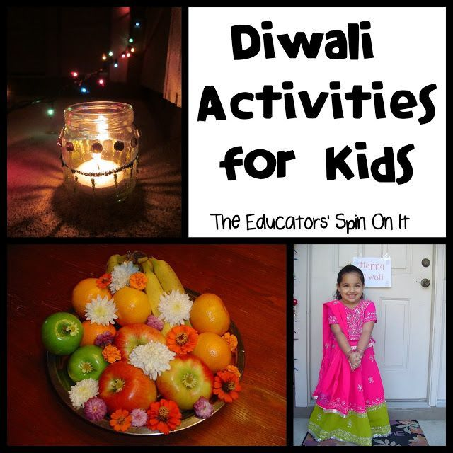 Information and activities about Diwali from a Hindu mother. All ages.