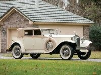 1927 Rolls Royce Phantom I USA Convertible Sedan by Brewster