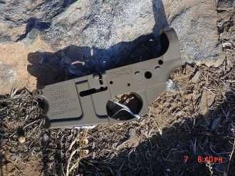Billet MSR-15 Lower Receiver, accepts all Mil-Spec AR-15 Upper Receiver assemblies.  Anodized in Type III Hard O.D. Green and if desired for a slight upgrade fee we can personalize the lower receiver with Laser engraving to really personalize your next build.             FFL transfer required per all apllicable laws.      when placing order include the name and contact information of your chosen FFL so we can ship this out to you fast.      Thank you and remember to say thank you when you…